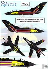 Syhart Decals 1/72 PANAVIA TORNADO German 100,00 Hour Special Scheme