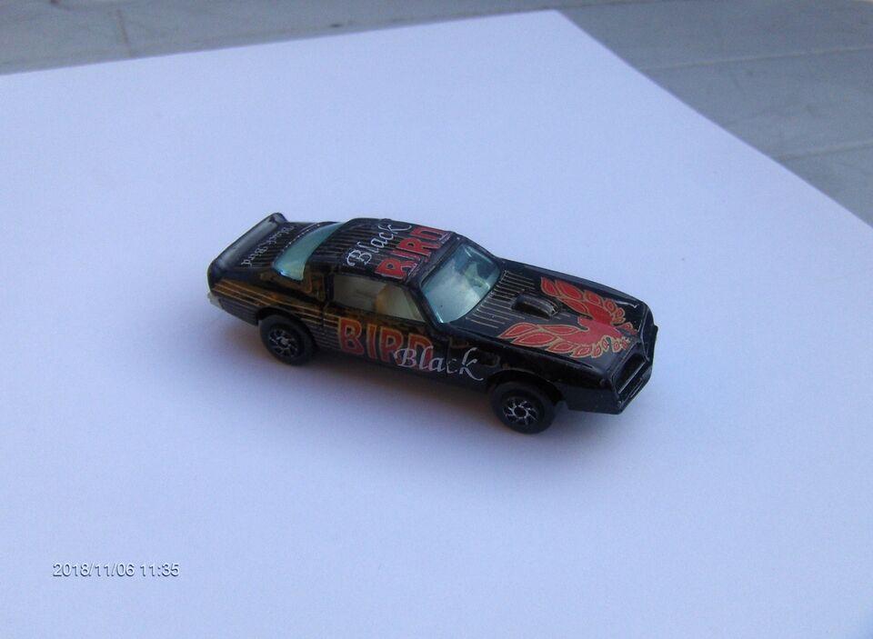 MODELBIL - PONTIAC TRANS-AM FIREBIRD - BLACKBIRD