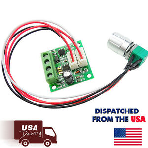 6v 12v 2a 30w dc motor speed controller pwm adjustable for Dc motor variable speed