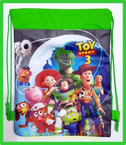 Brand new Toy Story Library kids Swim Beach drawstring Bag new styles