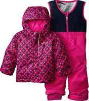 Columbia Buga Set Snowsuit Set Baby Girl 6-12 Month 2 Piece Warm Free Ship