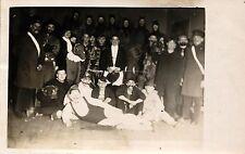 Karneval, Fastnacht, Gruppenbild, ca. 30er/40er Jahre, Wasserleben-Lamme