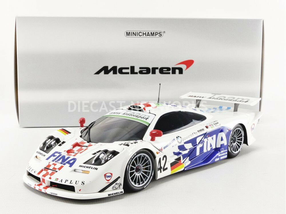 Minichamps MCLAREN F1 GTR LE MANS 1997 Lehto Soper Piquet  18 Scale LE304