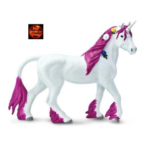 SAFARI LTD 802929 PINK UNICORN TOY ANIMAL HORSE MODEL FIGURE - BRAND NEW