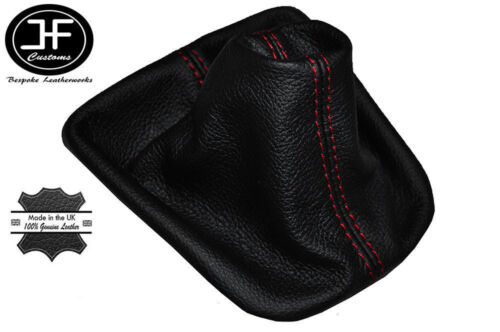 Red stitch fits Ford Galaxy Seat Alhambra VW Sharan Mk2 de vitesse en cuir couverture