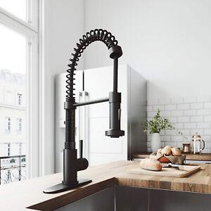 Kitchen Faucets Faucets AguaStella® Matte Black Kitchen ...