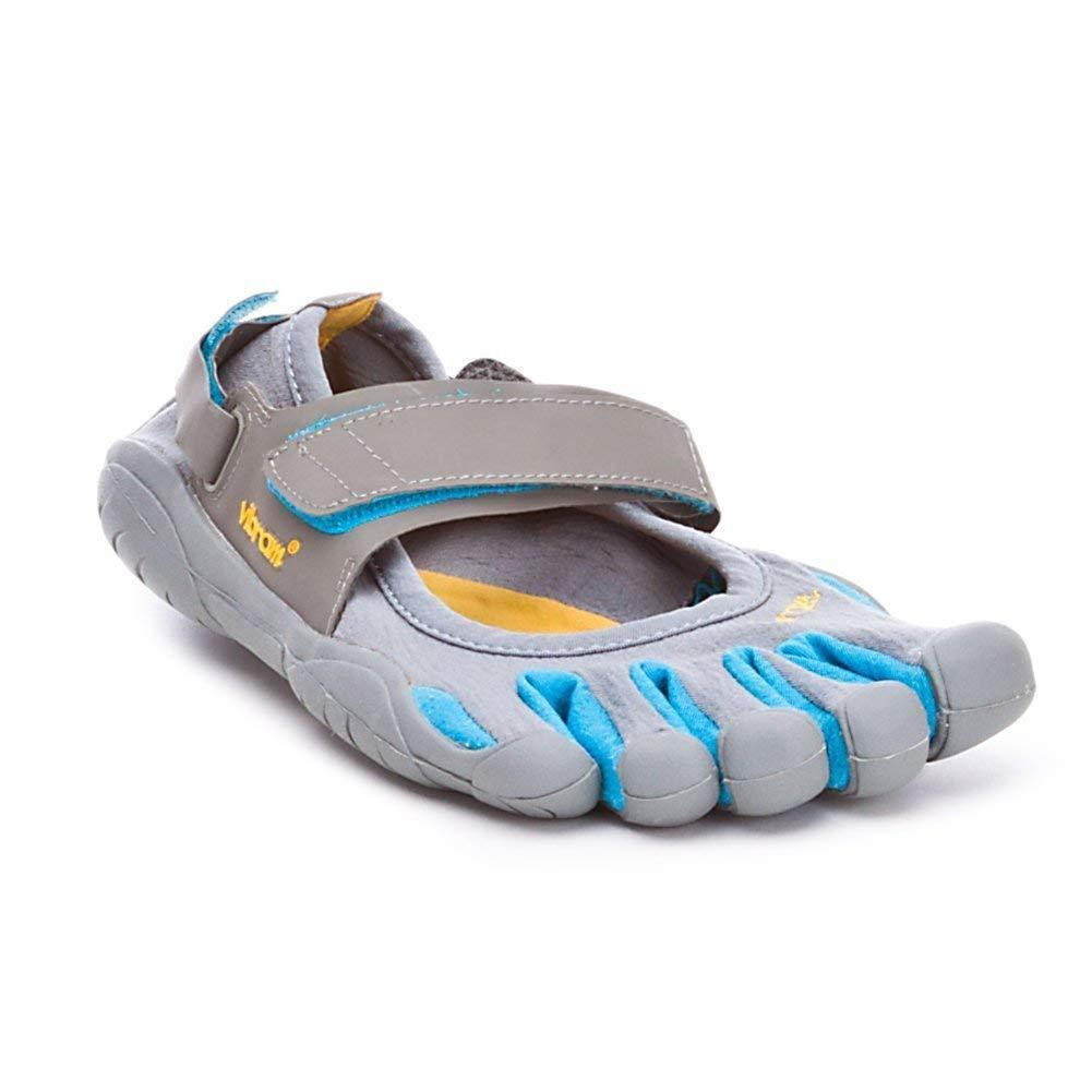 VIBRAM Fivefingers Sprint W1156 Grey Hawaiian Barefoot Running shoes Sandal 37