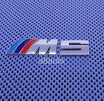 #41 BMW M5 Chrome Emblem Badge 520i 525i 530i 535i E28 E34 E39 E60 Xi