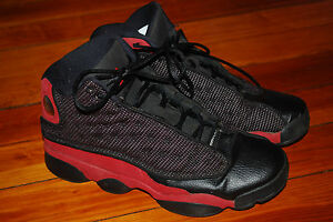competitive price c6825 db54a Details about Nike Air Jordan XIII 13 Retro Black/Varsity Red (7Y) Bred  414574-010