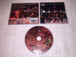 Quake-III-Arena-Sega-Dreamcast-2000-Original-Complete-LN-Perfect-MINT