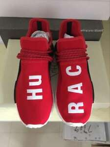"factory price 1496f 7f9b3 Details about Adidas Pharrell Williams NMD Human Race ""HU Race"" Red Size 8  BB0616"