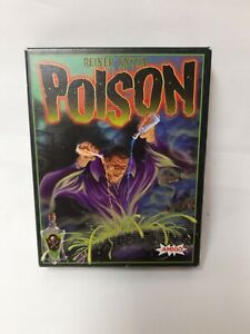 Poison-de-Reiner-Knizia-amigo-juego-de-cartas-rareza