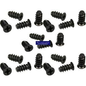20-Stueck-5-x-10mm-Schraubenkit-fuer-Systemluefter-Gehaeuseluefterschauben-schwarz