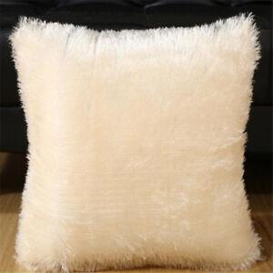 Throw-Home-Decor-Soft-Fur-Fluffy-Sofa-Pillow-Plush-Luxury-Cushion-Cover-6-Color
