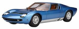 Kyosho-Original-1-18-Lamborghini-Miura-P400S-Blue-Die-Cast-Model-Car