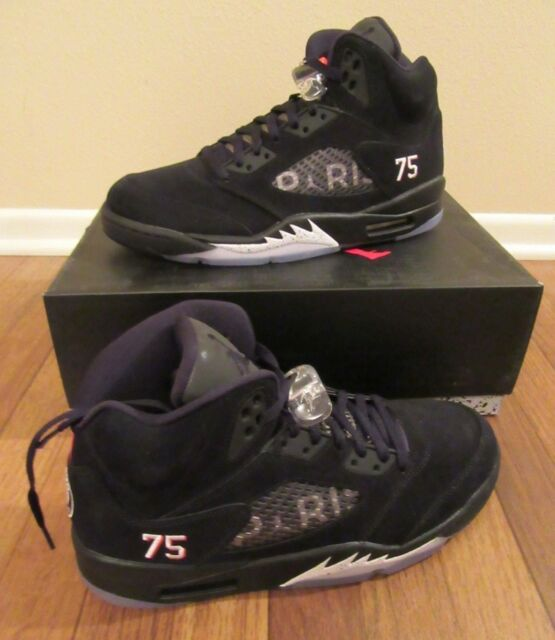 6d5efbb02eb Frequently bought together. Nike Air Jordan 5 Retro BCFC Paris Saint-Germain  ...