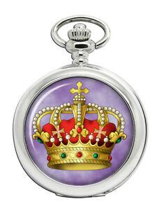 Italian-King-039-s-Crown-Pocket-Watch