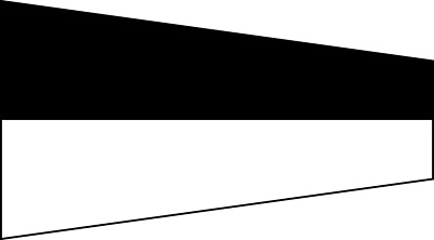 "Marine Code 6 Naval Signal Flag // Pennant 16/"" X 6.5/"" – Navy"