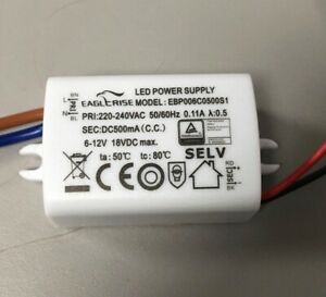 ersatztrafo LED treiber Driver trafo power supply Eaglerise EIP021C0500LX 556
