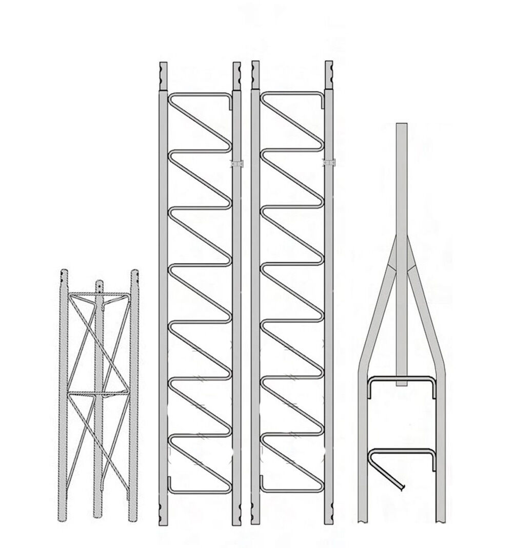 ROHN 25SS030 25G Series 30' Self Supporting Tower Kit . Available Now for 665.00