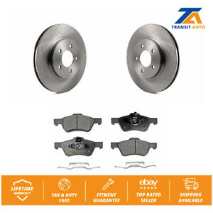 Front Rotors /& Ceramic Pads For 2010-2012 FORD ESCAPE 2010 2011 MERCURY MARINER