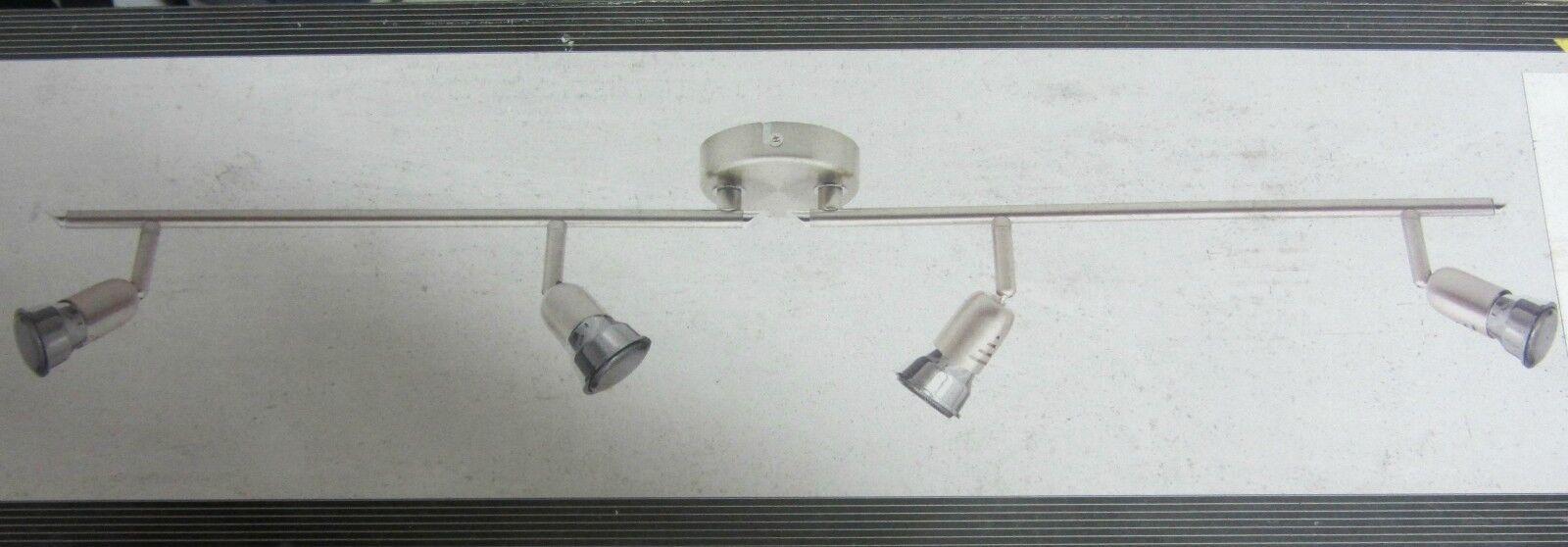 Brilliant G84832 13 Ecos Lampe X Wand Metall Chrom 4 Lichter 50W Neu