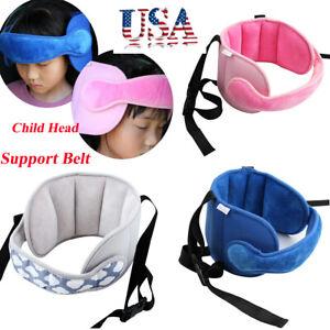 New Baby Child Head Support Stroller Buggy Pram Car Seat Belt Sleep Safety Strap