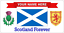 SCOTLAND FOREVER SCOTTISH HIGHLAND BAGPIPES 104 PERSONALISED METAL SIGN