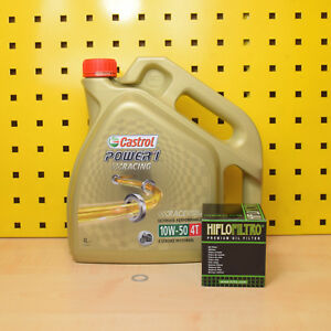 BMW R 1100 / Rs /Rt / S Oelwechselset Olio Filtro Castrol Power1 Racing 10w50