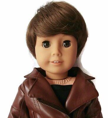 """American Girl Boy Doll Custom Wig Size 10-11"""" for Logan"""
