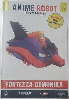 Fascicolo Fortezza Demonika Anime Robot 88 (go Nagai New Edition 38) Mazinga Eppure Non Volgare