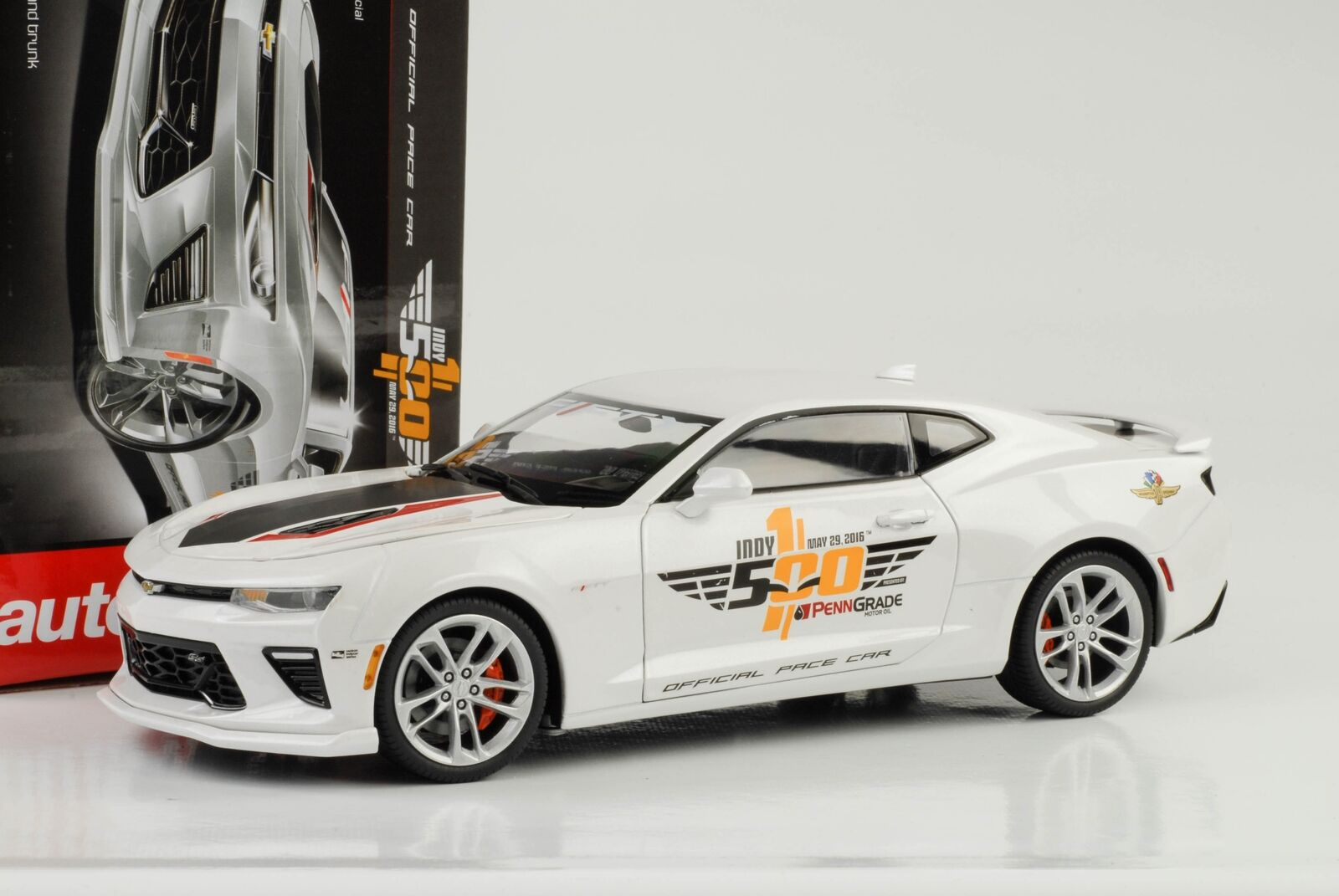 2017 Chevrolet Chevy Camaro SS Indy Indy Indy pace car 50th anniversary 1 18 Auto World d1b38b