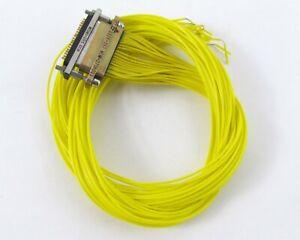 Micro-D-Conectores-Mated-Par-37-Au-Contactos-MDM-37SH001La-MCDMX-37PS
