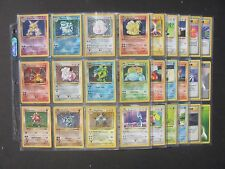 Pokemon NEAR COMPLETE SHADOWLESS BASE SET 102/102 - HOLOS - CHARIZARD