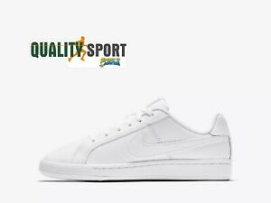 Nike Court Royale Bianco Scarpe Shoes Sportive Sneakers 833535 102 2019 Technologies SophistiquéEs
