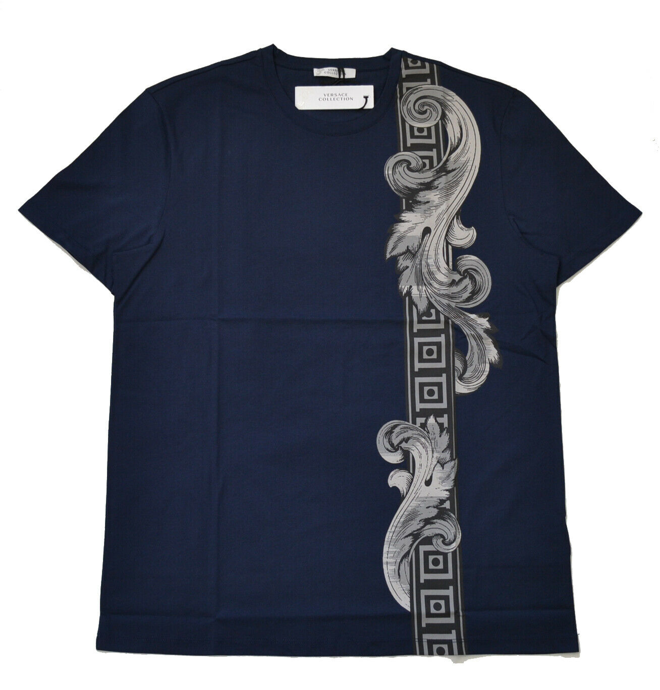 100% AUTHENTIC VERSACE T-SHIRT V800683S BRAND NEW WITH TAG IN VERSACE POLYBAG