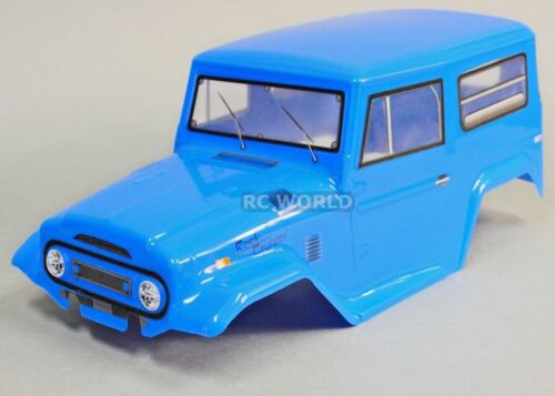 BLUE Rc Truck BODY SHELL 1//10 FORD BRONCO 252mm For Tamiya CC01 FINISHED