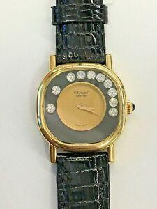Chopard-Happy-Diamond-Sport-Ladies-18k-Yellow-Gold-Watch