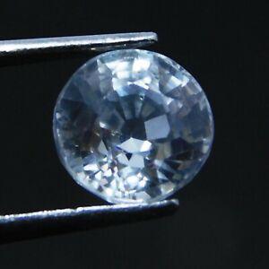 Natural-White-Sapphire-Loose-Gemstone-Round-Shape-3-Ct-Certified-Gemstones