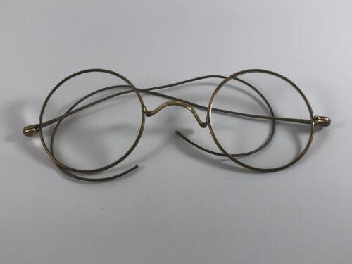 Antique John Lennon Gandhi Round Eyeglasses Frames