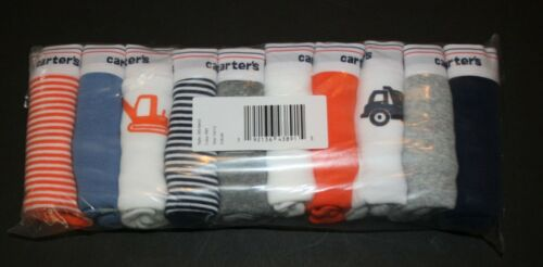 New Carter/'s 10 Pairs Underwear Boy Briefs NWT 2T 3T 4T 5T 6 7  year Solid Car