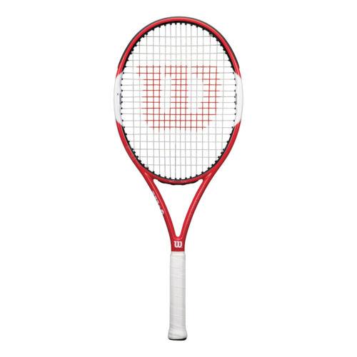 Wilson Six.One Lite 102  besaitet 249g Tennisschläger Rot-Weiß NEU