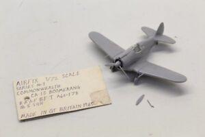 1960s-AIRFIX-Commonwealth-CA-13-Boomerang-Aircraft-Assembled-Model-Kit-1-72-M41