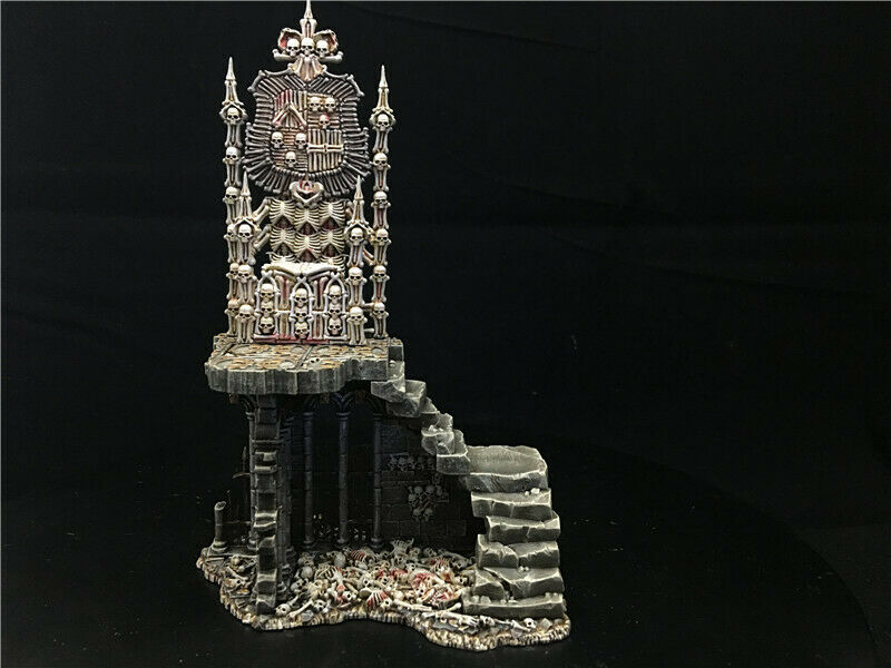 25mm Warhammer Fantasy Scenery DPS painted Charnel Throne  AP7076