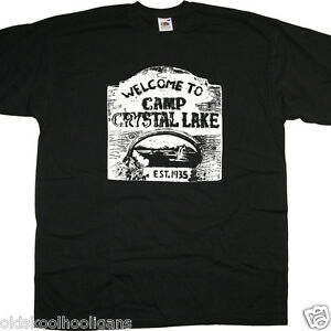 1e316767c Camp Crystal Lake T Shirt Inspired by Friday 13th Classic Horror T ...