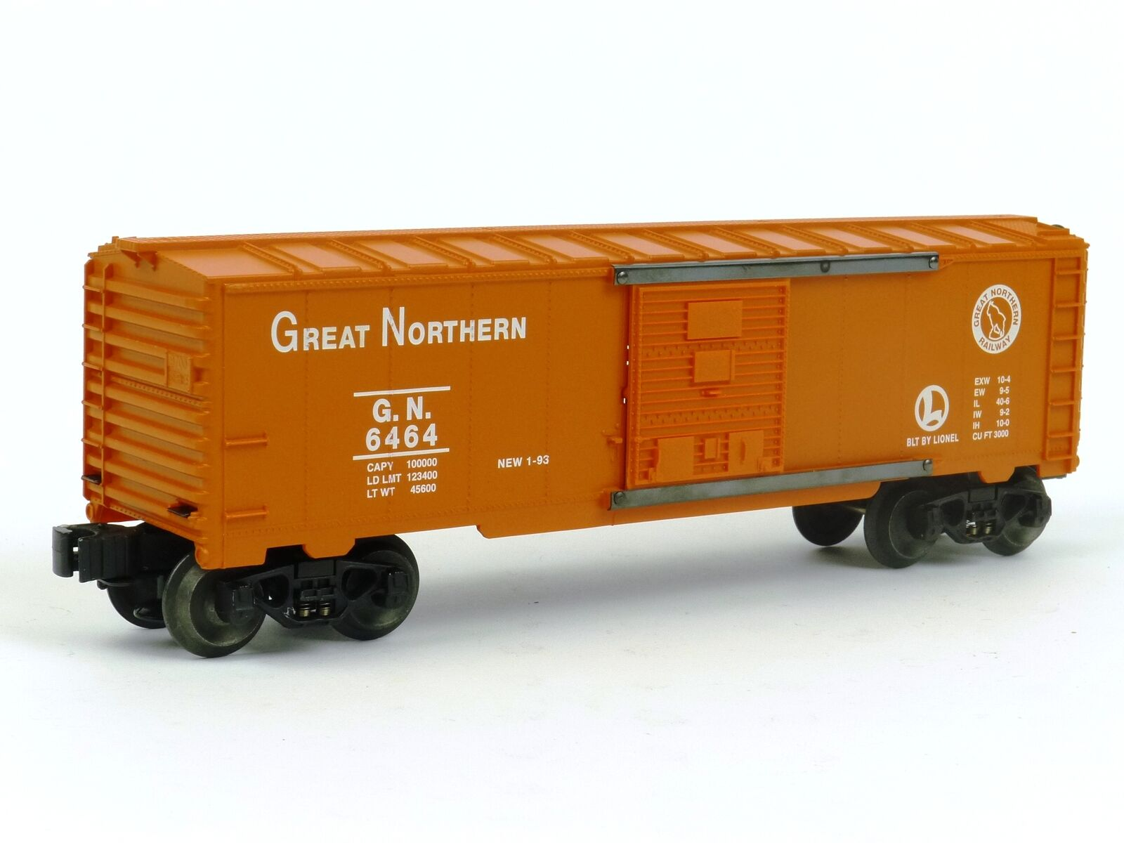Lionel 6-19249 Great Northern Box Car 6464-25 O Gauge Model Trains