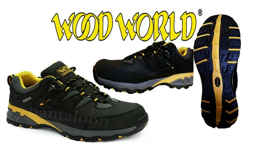 WF26- New Mens Waterproof Steel Toe Cap Safety Trainers Size 7-12 By Wood World