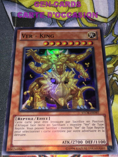 OCCASION Carte Yu Gi Oh VER KING STOR-FR097