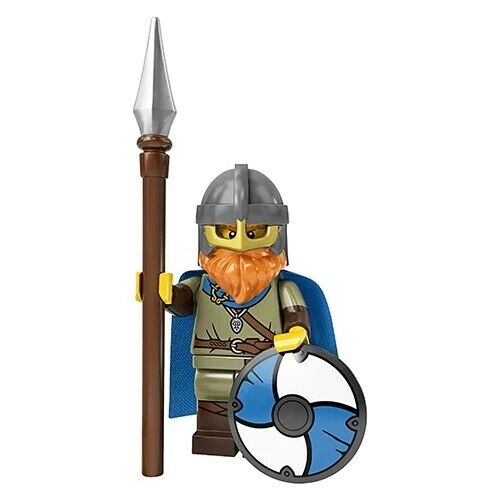 Lego Series 20 Viking Minifigure #8 71027