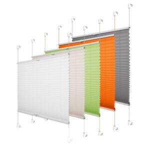 Plissee Jalousien Rollo Klemmfix für Fenster ohne Bohren easyfix Sonnenschutz
